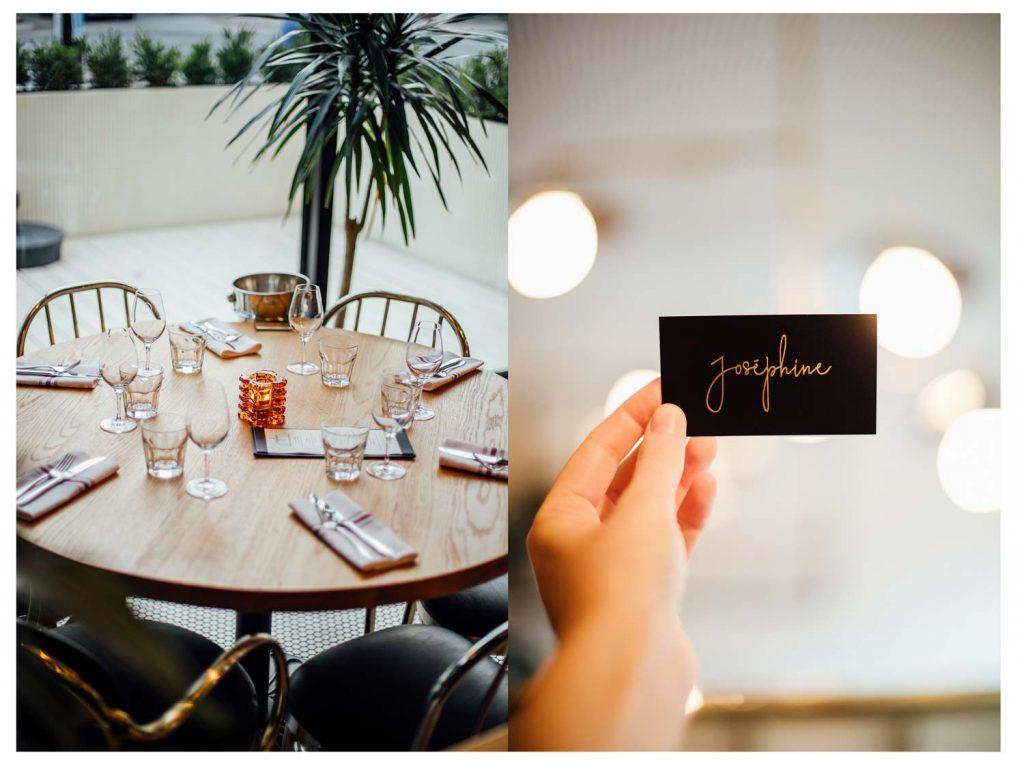 restaurant Joséphine décoration