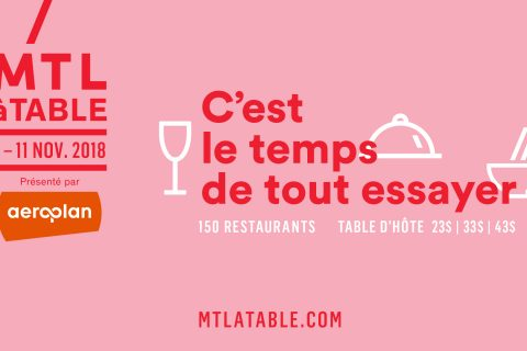 MTL à table 2018